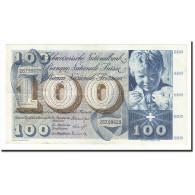 Suisse, 100 Franken, KM:49g, 1961-12-21, TTB - Switzerland