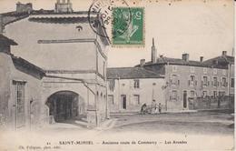 + CPA 55 Saint Mihiel - Ancienne Route De Commercy - Les Arcades + - Saint Mihiel