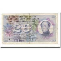 Suisse, 20 Franken, 1954, KM:46a, 1954-07-01, B - Suiza