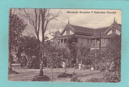 Old Postcard Of Alserjungs Bungalow Hyderabad, Telangana, India,R34. - India