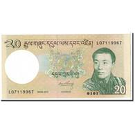 Bhoutan, 20 Ngultrum, 2013, KM:30, NEUF - Bhoutan
