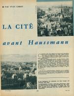 1960 :Document, ILE DE LA CITE (3 Pages Illustrées) Haussann, Rue Neuve-Notre-Dame, Eglise Saint-Denis, Pont Notre-Dame - Vieux Papiers