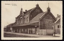 BUIZINGEN - DE STATIE - LA GARE - Animatie - Halle