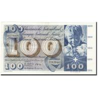 Suisse, 100 Franken, KM:49e, 1963-03-28, TTB+ - Suiza