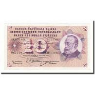 Suisse, 10 Franken, 1955, KM:45b, 1955-10-20, TTB - Suiza