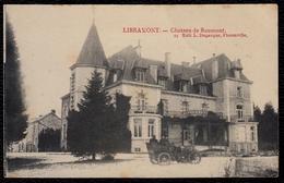 LIBRAMONT - CHATEAU DE ROUMONT - édit. Duparque - Animée - Oldtimer - Libramont-Chevigny