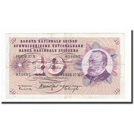 Suisse, 10 Franken, 1961, KM:45g, 1961-10-26, TB - Suiza