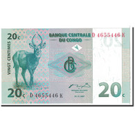 Congo Democratic Republic, 20 Centimes, 1997, KM:83a, 1997-11-01, NEUF - Republic Of Congo (Congo-Brazzaville)