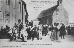 CPA - FRANCE - Saint-Fiacre-sur-Maine Est Situé Dans Le Dép. De La Loire Atlantique - Une Noce à St-Fiacre - Daté 1903 - France