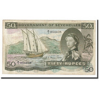 Seychelles, 50 Rupees, 1969, 1969-01-01, KM:17b, TTB - Seychellen