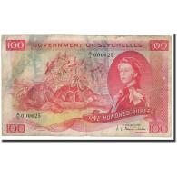 Seychelles, 100 Rupees, 1968, 1968-01-01, KM:18a, B+ - Seychelles