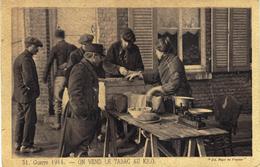 Carte Postale Ancienne De TABAC - GUERRE 1914 - Tabac