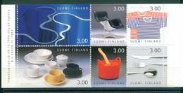 Finland 1998 - Finnische Design, MH 52, MNH**
