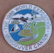 VANCOUVER CANADA - THE 1986 WORLD EXPOSITION - BATEAU - AVION - TRAIN  -  (17) - Villes