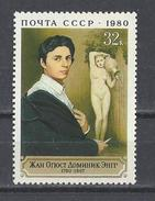 RUSSIE . YT 4722 Neuf ** 200e Anniversaire De La Naissance Du Peintre Dominique Ingres 1980 - Unused Stamps