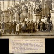 PHOTO - Photo De Presse - Politique - Manifestations Paris - Personnel De L'Opéra - 1971 - Autres