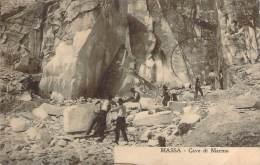 Italie - Massa - Cave Du Marbo (carrière De Marbre) - Massa
