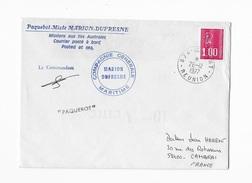 Paquebot-mixte Marion Dufresne Missions Aux Iles Australes - Cartas