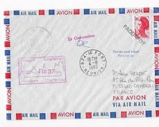 CGM Marion Dufresne Missions Aux Iles Australes Campagne Géophysique - Lettres & Documents