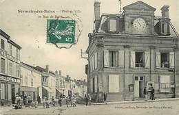 - Marne -ref-A591- Sermaize Les Bains - Hotel De Ville - Succursale N°5 Du Familistere Du Nord Est -magasin - Magasins - - Sermaize-les-Bains