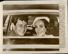 PHOTO - Photo De Presse - LIZ TAYLOR - Actrice - Eddie Fischer - 1959 - Célébrités