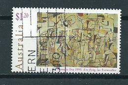 1995 Australia $1.20 Art,kunst Used/gebruikt/oblitere - 1990-99 Elizabeth II