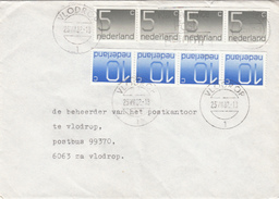 Envelop 23 Jul 1982 Vlodrop 1 (stempeltype Openbalk) - Postal History
