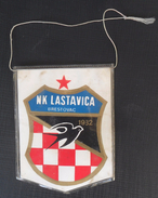 NK LASTAVICA BRESTOVAC, CROATIA, FOOTBALL CLUB, CALCIO OLD PENNANT - Uniformes Recordatorios & Misc