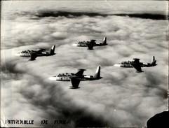 PHOTO - Photo De Presse - AVIATION - Patrouille De Fough - Avions Militaires - Aviation