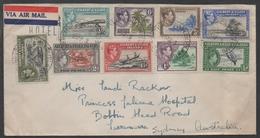GILBERT & ELLICE - CANTON ISLAND / 1953 LETTRE POUR L AUSTRALIE / PEU COMMUN (ref 6511) - Gilbert & Ellice Islands (...-1979)