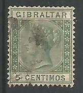 Victoria 5c Vert - Gibraltar