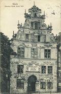 AK Stade Ältestes Haus Möbel-Lackiererei 1914 #10 - Stade