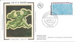 ENVELOPPE 1er JOUR - FDC - N° 1836 - ARPHILA - GRAPHISME - 1970-1979