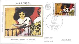 ENVELOPPE 1er JOUR - FDC - N° 1841 - VAN DONGEN - EUROPA - 1970-1979