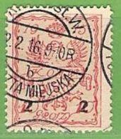 MiNr.7 O  Deutschland Deutsche Besetzg,1.WK Deutsche Post In Polen,Stadpost - Bezetting 1914-18