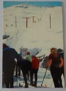 507- Cartolina /Postcard Sciovia Cresta Sobretta S.Caterina Valfurva Ed.Vitalini - Sondrio