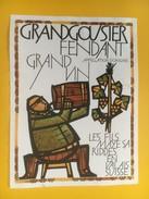 4073 - Grandgousier Fendant Du Valais Suisse - Etiquettes