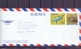 Cook Islands - Avarua 10/11/1986  (RM12175) - Vie Marine