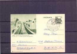 Deutsche Bundespost - Intern. Polizeiausstellung - München  17/8/66  (RM12269) - Police - Gendarmerie