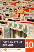 Magazine - Tijdschrift Fotografie Foto Amateur Service - Pub Reclame - Gevaert Mortsel Antwerpen 10/ 1960 - Pratique