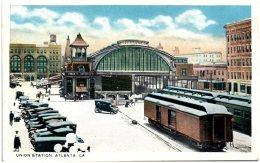 GA - ATLANTA - Union Station  (Recto/Verso) - Atlanta
