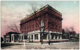 GA - ATLANTA - The Capital City Club (Recto/Verso) - Atlanta