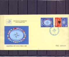 Shqiperia -  FDC - 3/4/2008   (12328)