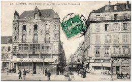 56 LORIENT - Place Alsace-Lorraine - Entrée De La Rue Victor-Massé   (Recto/Verso) - Lorient