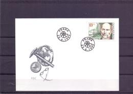 Ceska Republika -  Joachim Barrande - FDC - Praha 23/6/1999  (RM12357) - Célébrités