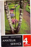 Magazine - Tijdschrift Fotografie Foto Amateur Service - Pub Reclame - Gevaert Mortsel Antwerpen 4/ 1963 - Pratique