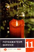 Magazine - Tijdschrift Fotografie Foto Amateur Service - Pub Reclame - Gevaert Mortsel Antwerpen 11/ 1965 - Pratique