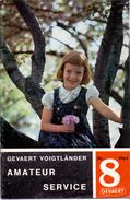 Magazine - Tijdschrift Fotografie Foto Amateur Service - Pub Reclame - Gevaert Mortsel Antwerpen 8/ 1964 - Pratique