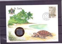 St Lucia - Castries 27/1/1988   (RM12492) - Géographie