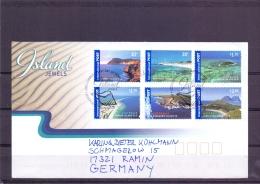 Australia - Island Jewels  - FDC - 5/3/2007   (RM12497) - Géographie